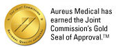Aureus Medical has earned the Joint Commision's Gold Seal of Approval.