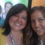 Sunny & Erika at the Aureus Medical booth