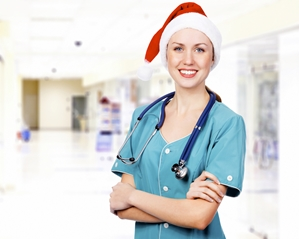 Hospitals and healthcare facilities have an increased demand for staff beginning late October through the end of January.