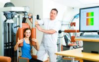 Physical therapists work in a very collaborative environment.