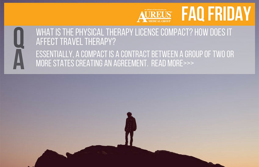 FAQ Friday: What is the compact physical therapy license?