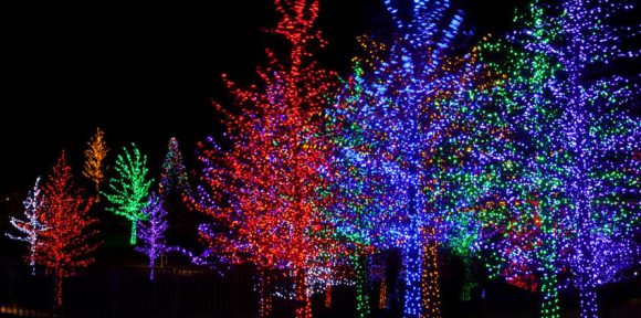 Top 5 Holiday Light Displays in the U.S.