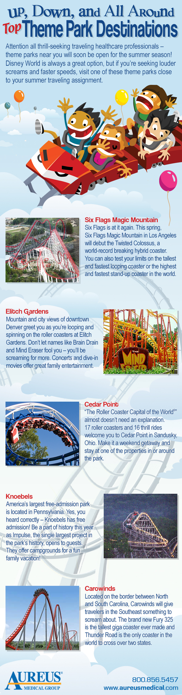 Top Theme Park Destinations