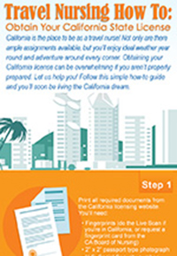 Infographic Gt Travel Nursing Careers Gt Obtain Your
